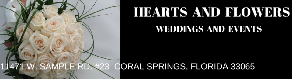Weddings by Hearts and Flowers